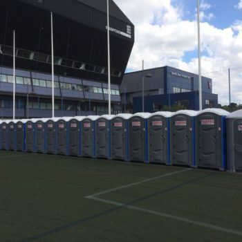 Portable Toilet Supply Ipswich Town Football Club with Event Toilets