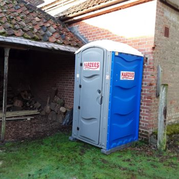 Site Toilet Hire for use while home renovation works are underway